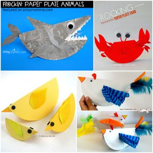 Rockin' Paper Plate Animals Kids Will Love