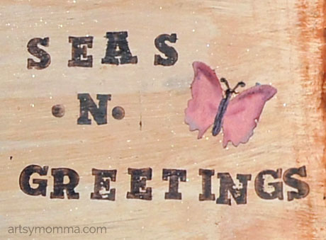 Seas & Greetings Christmas Saying