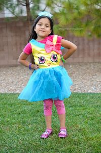 Super Cute Shopkins Halloween Costume - Cupcake Queen