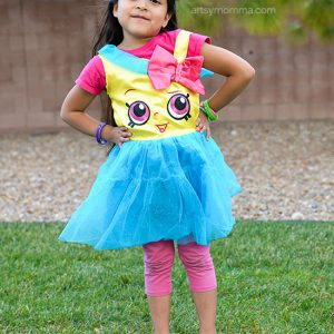 Adorable Cupcake Queen Costume for Shopkins Fans