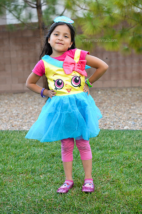 Super Cute Shopkins Halloween Costume - Cupcake Queen Costume for Girls