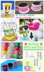 Teacup Ideas for Kids - Tea Party Activities