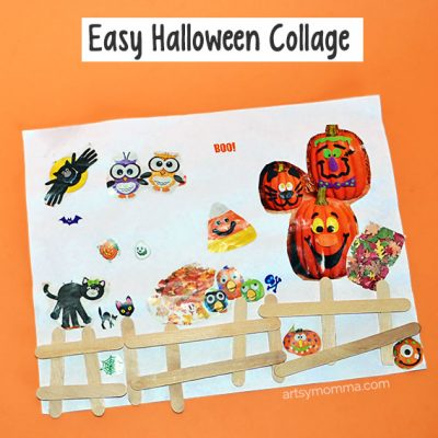 Easy Halloween Craft for Preschoolers