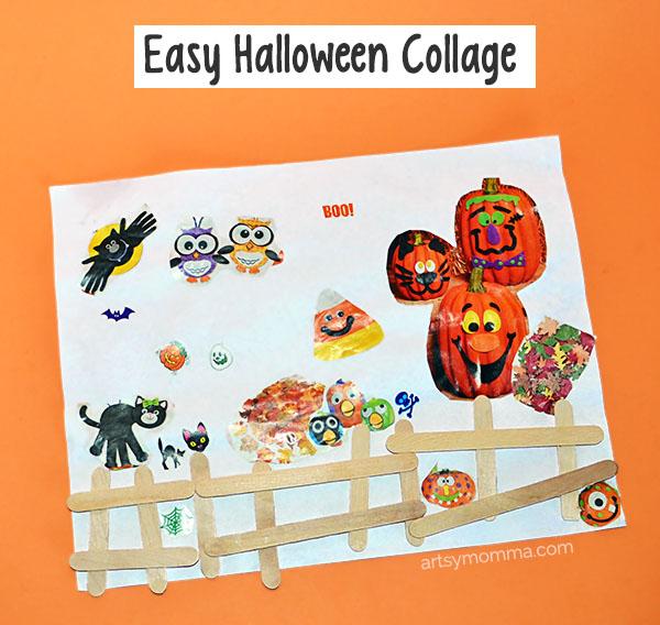 Easy Halloween Craft for Preschoolers