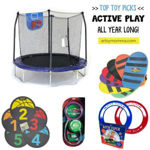 20 Toys That Encourage Active Play All Year Long!