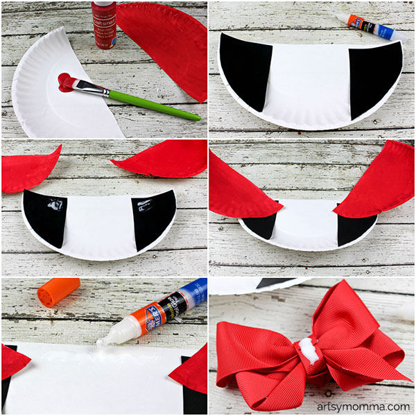 Drling Vampire Paper Plate Craft Instructions