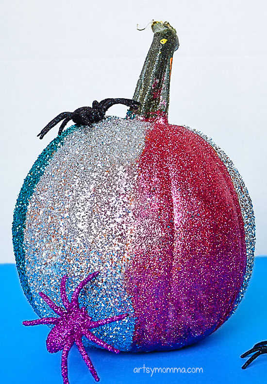 Easy Glitter Pumpkin Ideas For Kids