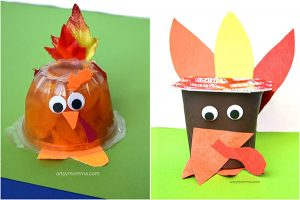 How to make Turkey Snack Cups for Thanksgiving