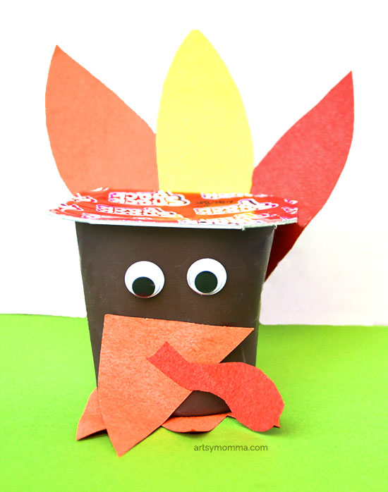 Make a Turkey Pudding Cup Party or Classroom Idea