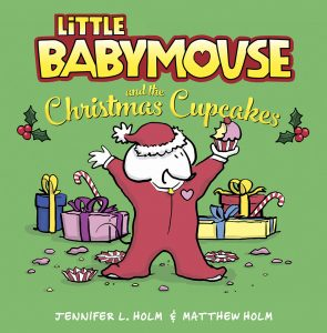 Little Babymouse and the Christmas Cupcakes Book & Craft Idea