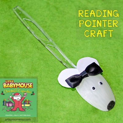 DIY Plastic Spoon Mouse Reading Pointer