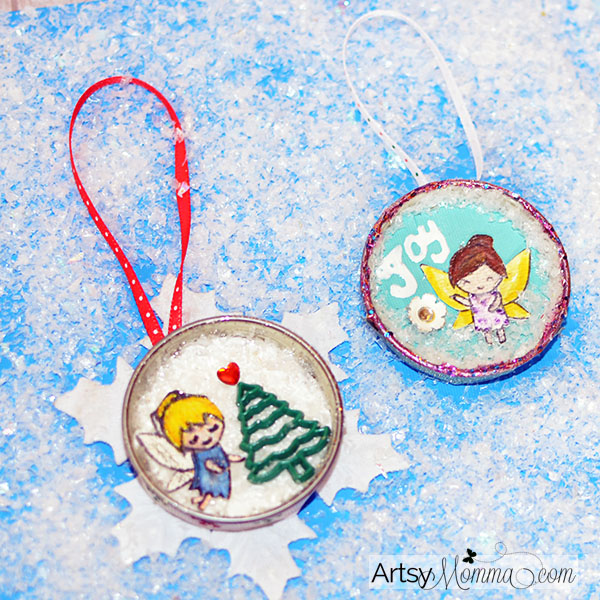 Snowflake Fairy Christmas Ornament Crafts