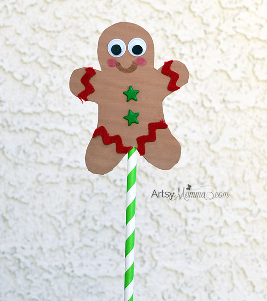 DIY Gingerbread Man Puppets - Story Retelling Activity
