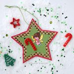 Katie the Candy Cane Fairy Inspired Christmas Ornament Craft