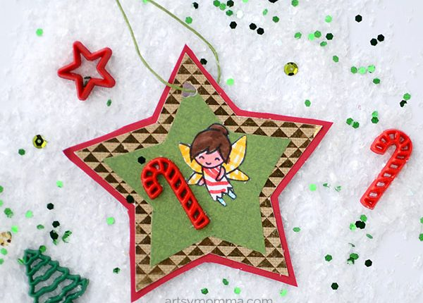 Katie the Candy Cane Fairy Book-inspired Ornament Craft