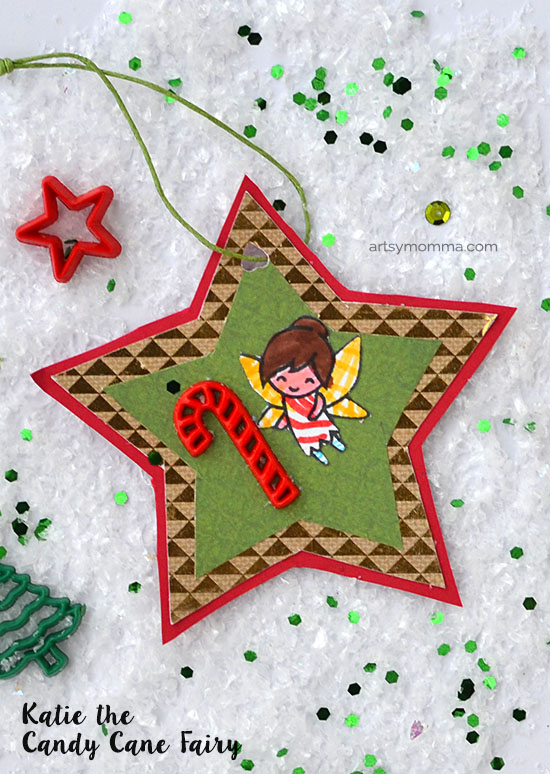 Katie the Candy Cane Fairy Book-inspired Ornament Craft for Kids