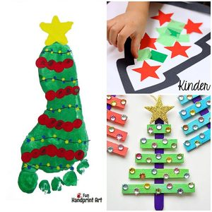 28 Crafty Christmas Tree Projects for All Ages
