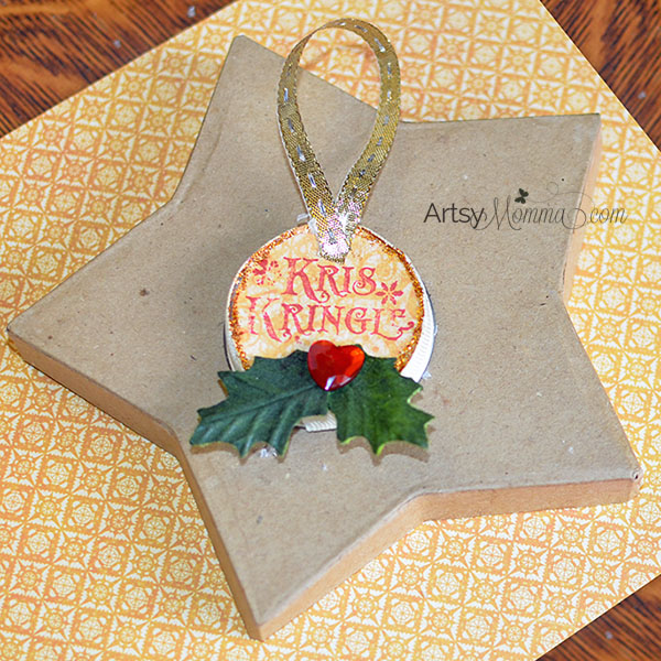 Kris Kringle Ornament Craft Idea