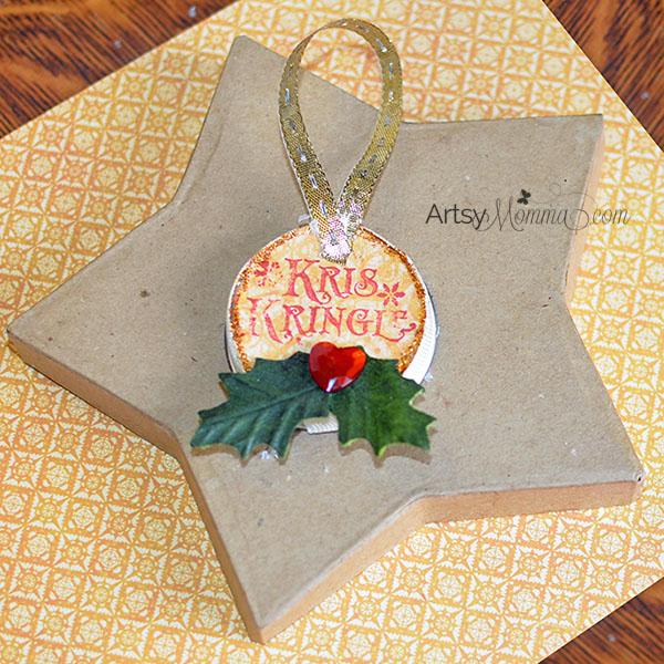 Kris Kringle Ornament Craft Idea