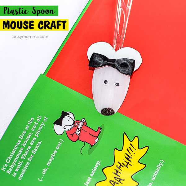 Plastic Spoon Mouse Craft Tutorial