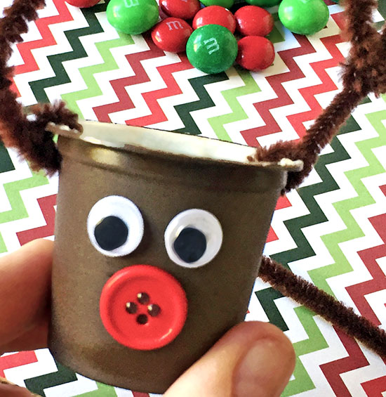 DIY Reindeer K Cup Mini Treat Holder Craft