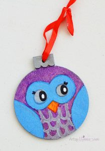 wood-owl-christmas-ornament-craft