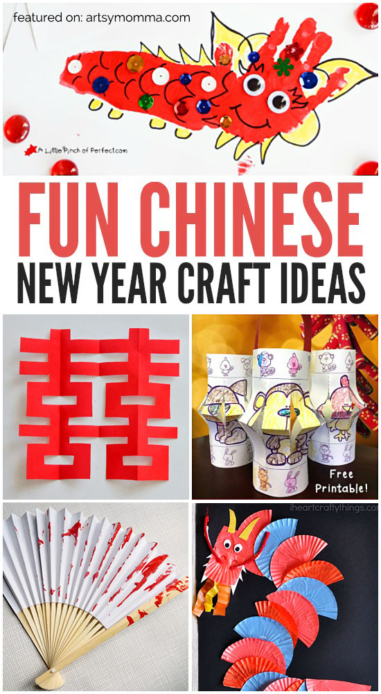 Teach kids about Chinese New Year with these fun craft ideas!