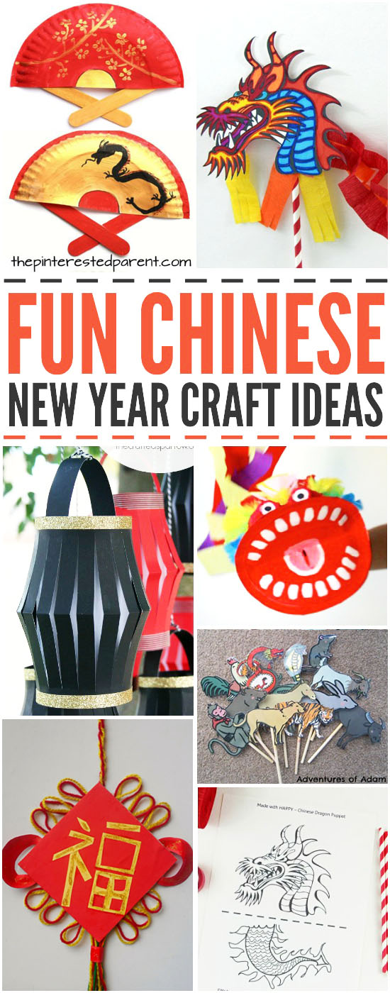 Fun Chinese New Year Craft Ideas for Kids