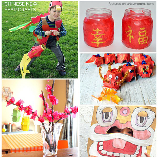 Fun Chinese New Year Craft Ideas