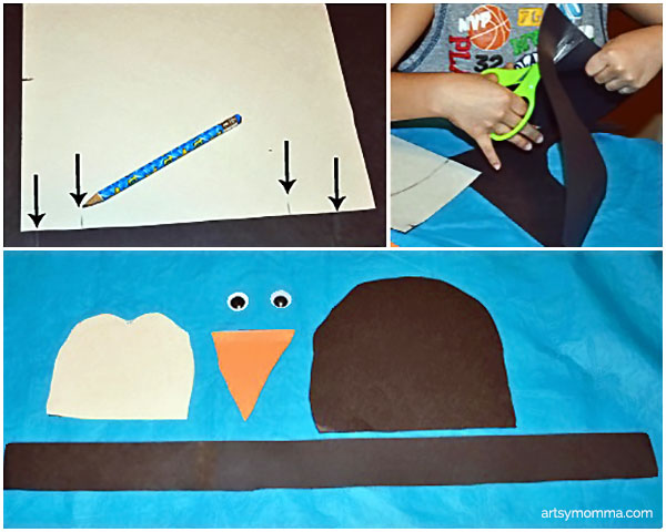 How to make a Penguin Hat Craft