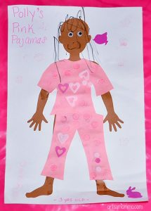 Polly's Pink Pajamas Book Extension