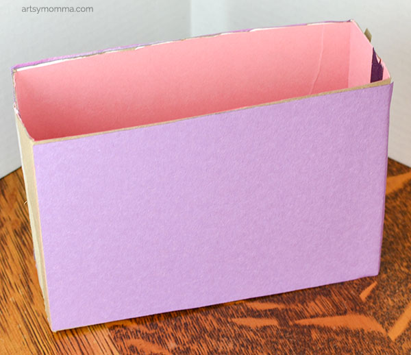 Recycled Box Craft for Kids