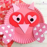 Charming Valentine's Day Owl Craft