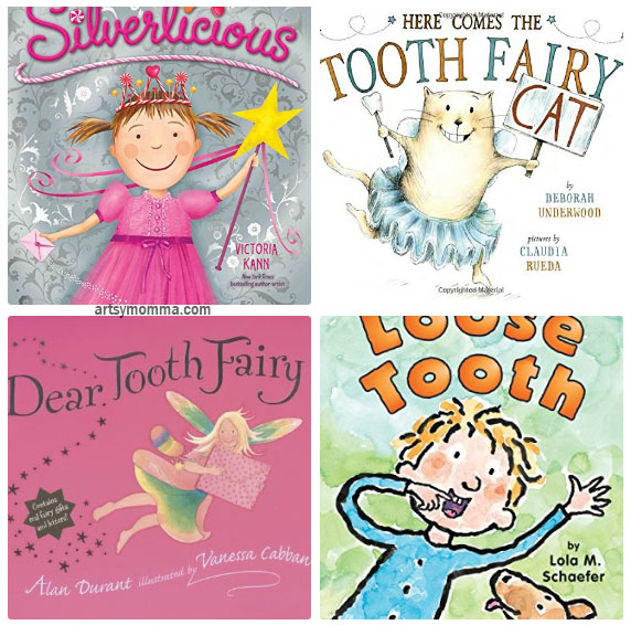 Books About Tooth Fairies & Losing Teeth