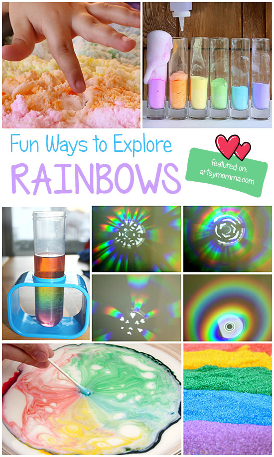 Fun Ways to Explore Rainbows: Play, Science, Sensory