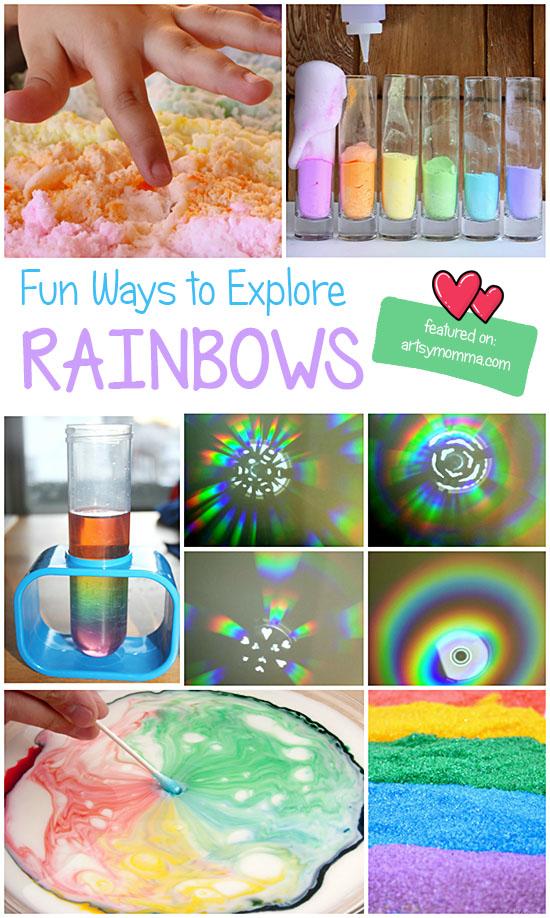 Fun Ways to Explore Rainbows: Play, Science, Sensory