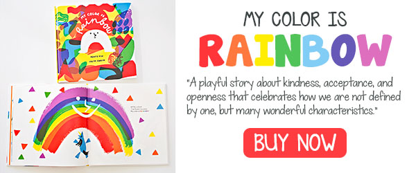 My Color is Rainbow - Book for kids that celebrates diversity