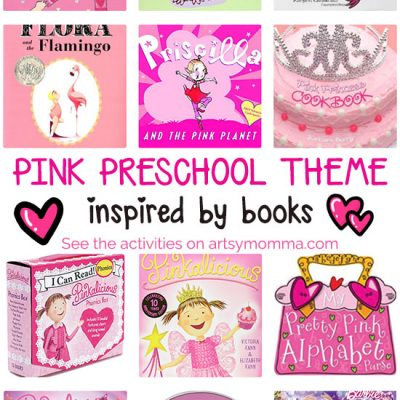 PINK Book Activities for Preschoolers
