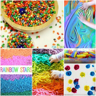 Ultimate Guide to Rainbow Sensory Play Activities