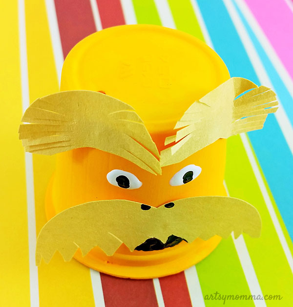 Recycled K Cup Lorax - Dr Seuss Craft for Kids