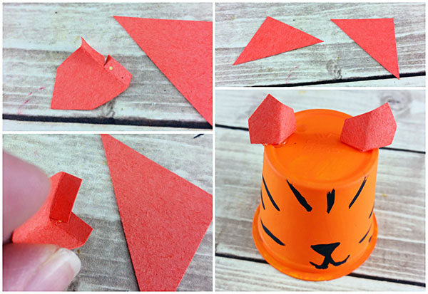 Turn a K Cup into an Adorable Recycled Tiger Craft