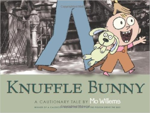 Knuffle Bunny: A Cautionary Tale by Mo Williems