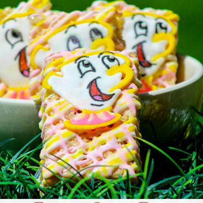 Beauty and the Beast Party Idea: Make Rice Krispies Treats Featuring Chip