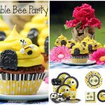 Cute Bumble Bee Birthday Cupcakes – Recipe Tutorial
