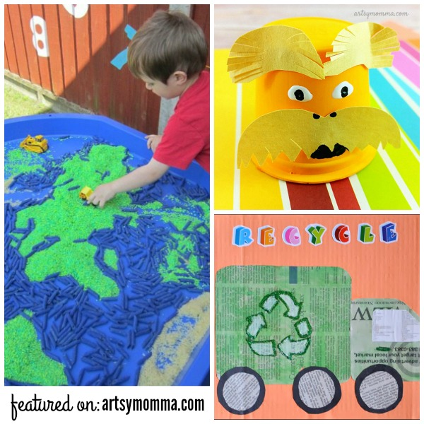 Earth Day Activities Recycled Crafts For Kids Artsy Momma