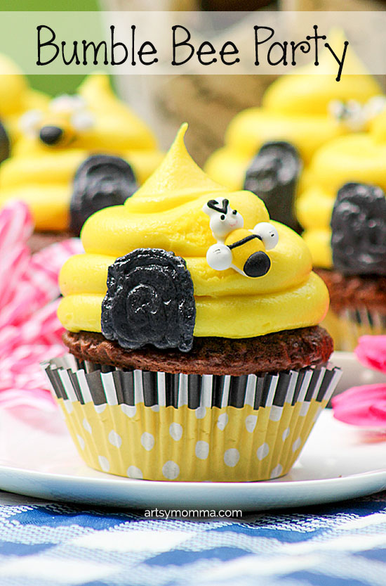 Simple Beehive Cupcake Tutorial for a Bumble Bee Themed Birthday Party
