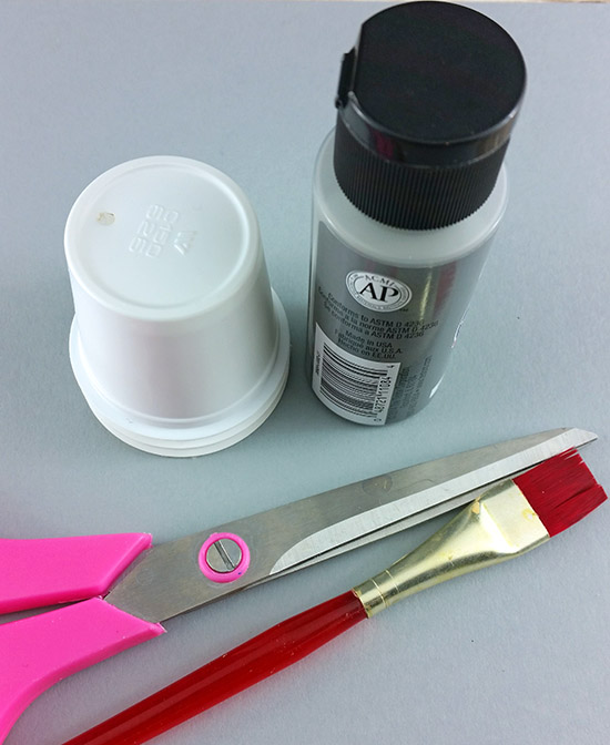 Elephant Craft - Paint, K Cup, Construction Paper