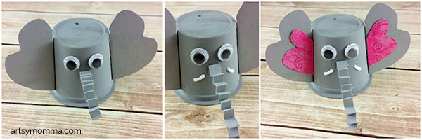 Elephant Coffee Pod Recycled Craft Idea