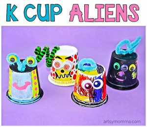 Recycled K Cup Aliens and Life On Mars Book Review
