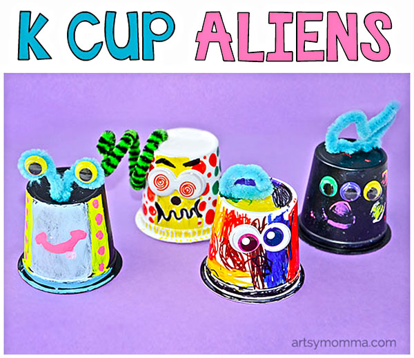 Invitation to Create Aliens from Empty K Cups